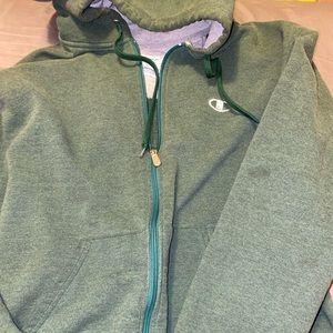 Vintage champion zip up hoodie